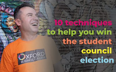 10 techniques to help you win the student council election