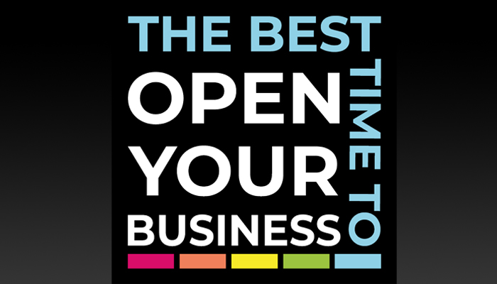 When is the best time to open a business