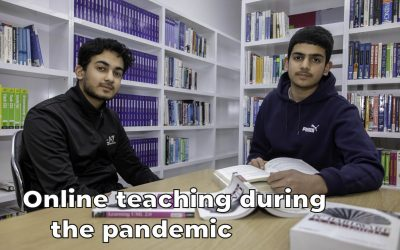 Online teaching during the pandemic