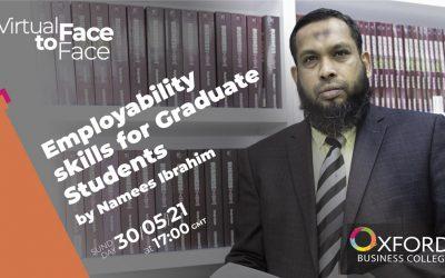 Employability skills for Graduate Students