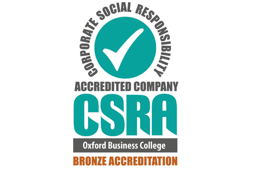 OBC awarded Bronze Corporate Social Responsibility accreditation