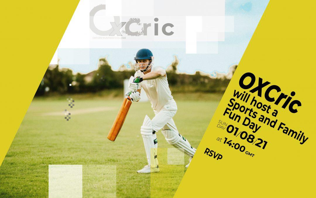 OxCric Sports Family Fun Day